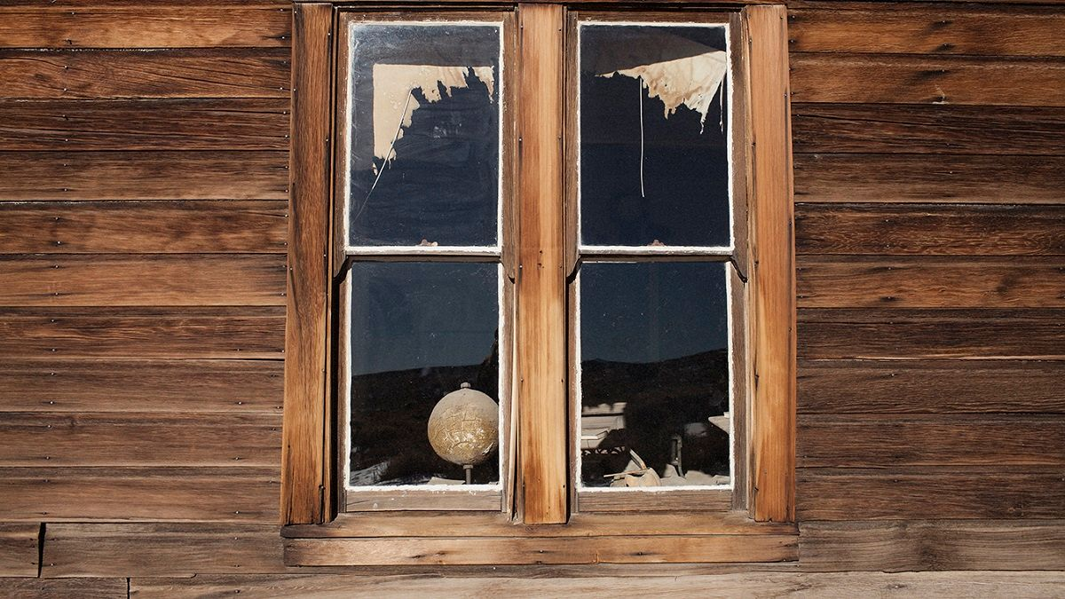 A window in Bodie, CA