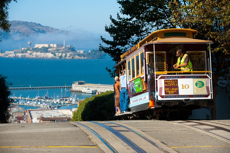 Alcatraz and Cable Cars - San Francisco
