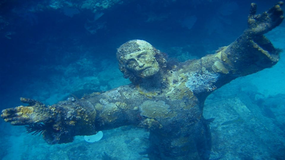 Christ of the Deep, Key Largo, FL.