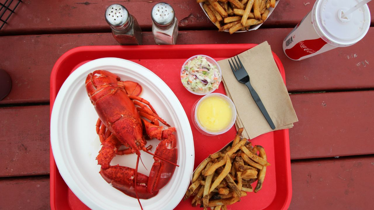A lobster feast.