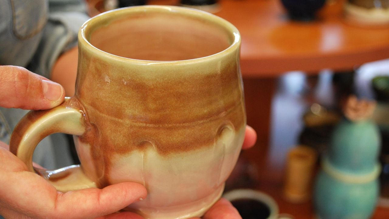 A lovely mug from the Ohr-O'Keefe Museum of Art