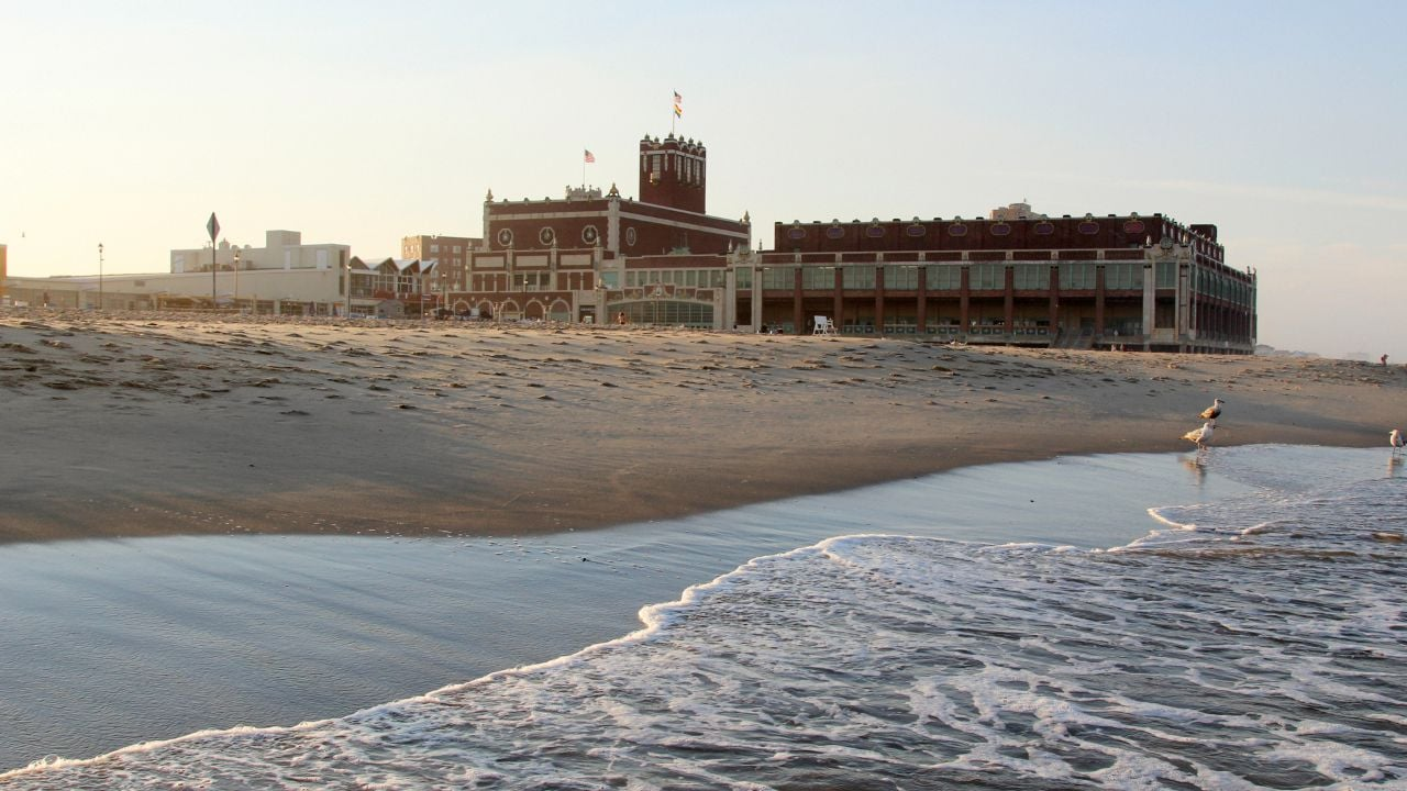 The historic convention center at Asbury Park is nearly a century old; it now has shops, galleries and restaurants.