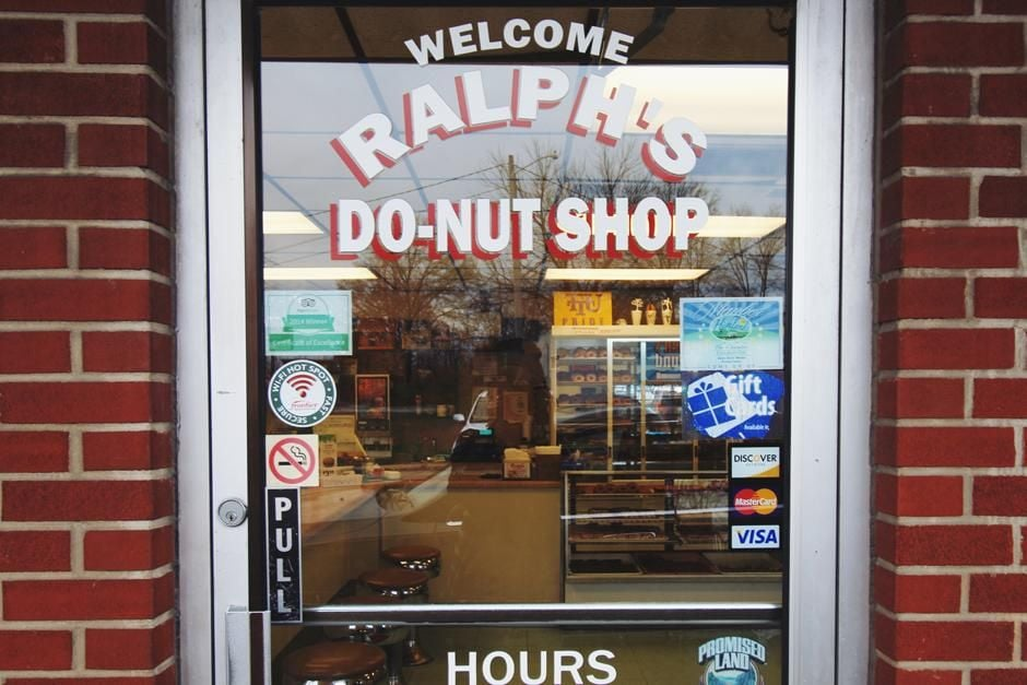 Ralph's Donuts in Cookeville, Tennessee.
