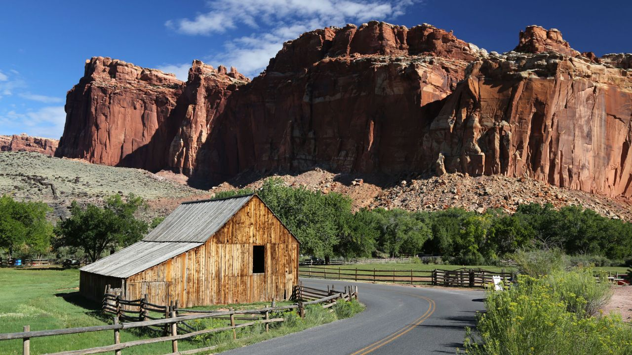 Capitol Reef National Park is one of five national parks in Utah.