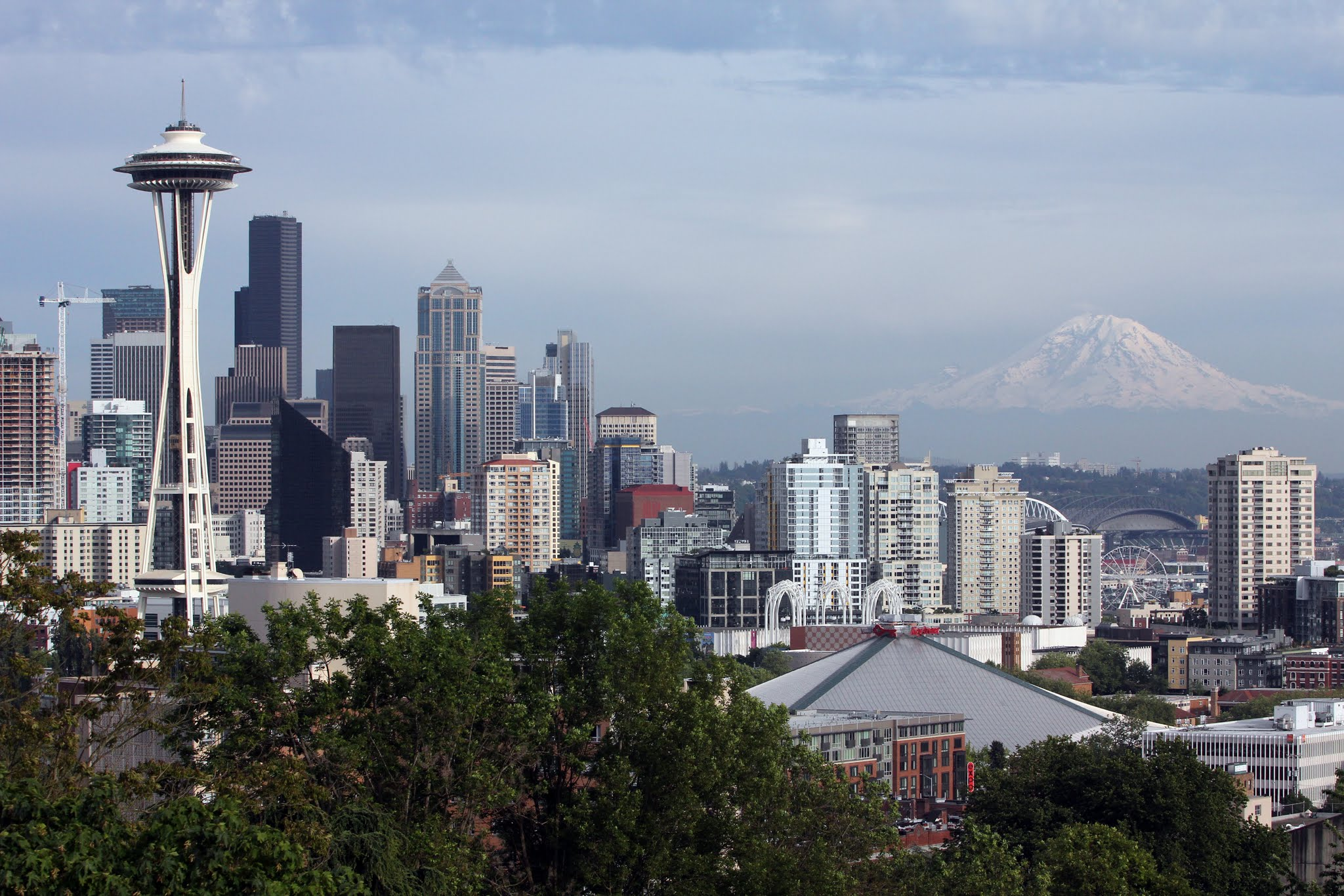 Best Downtown Seattle View- Kerry Park