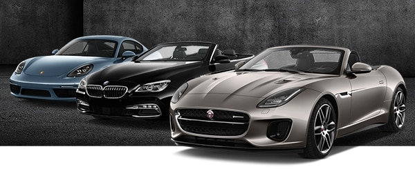 Choose From A Variety Of Luxury Sports Cars Including Jaguar F Type Convertible Porsche Cayman Mercedes Benz Gle400 Check Rates And Availability Now
