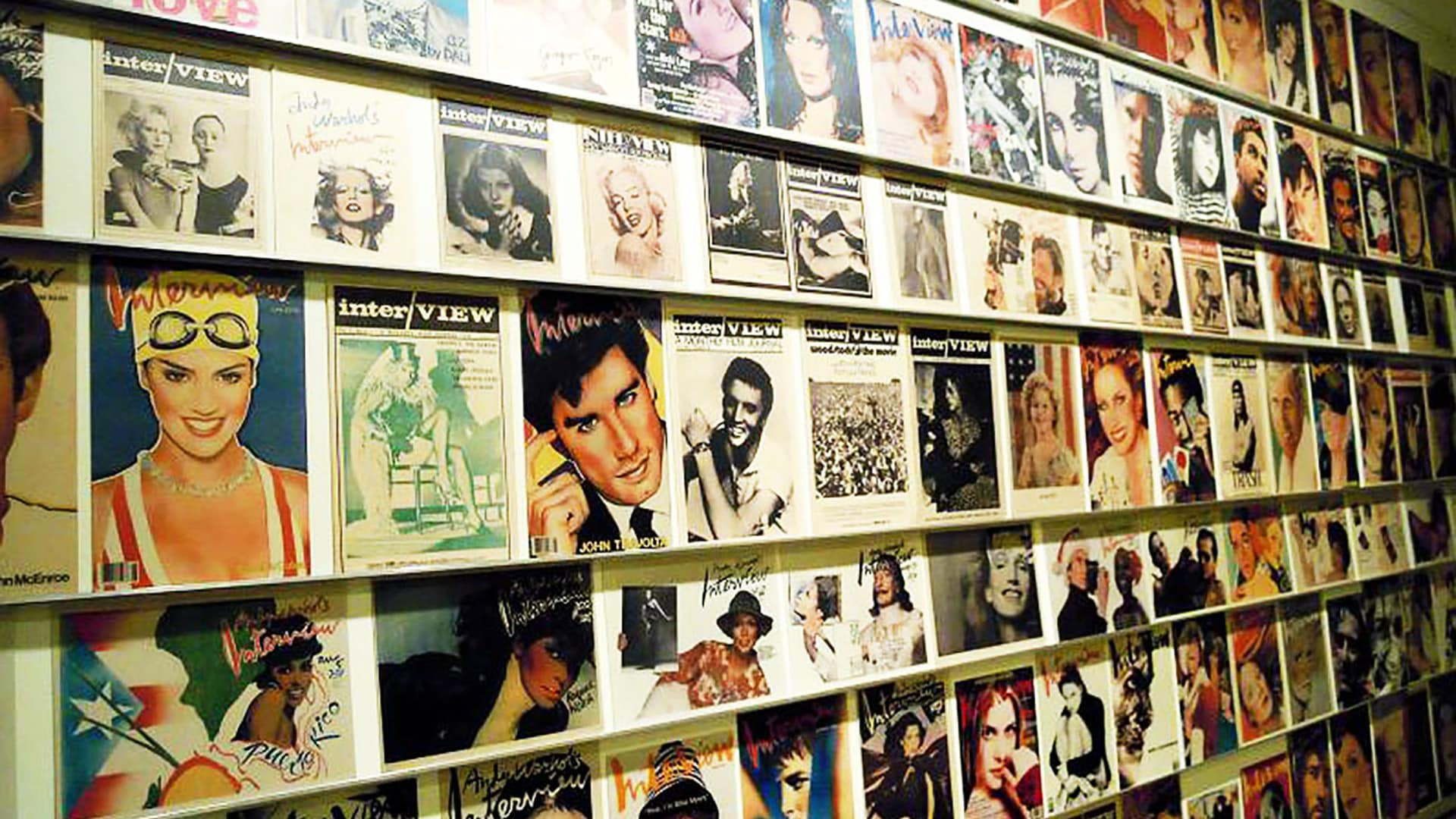 A display in the Andy Warhol Museum, Pittsburgh. Photo by Becca923 via Flickr