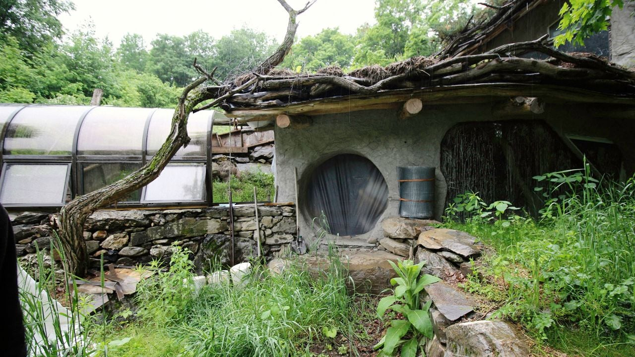 "Rik Sassa's ""Hobbit House"" is already in the works. Built into the side of a hill, it comes complete with a round door."