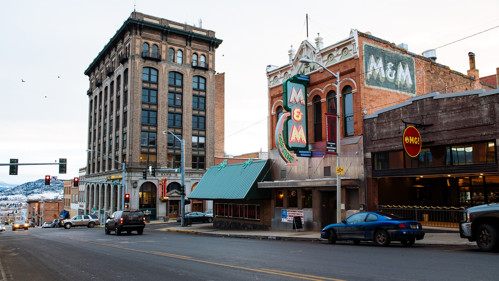 The M&M Bar and Cafe, which opened in 1890, is one of nearly 6,000 buildings that make up the Butte-Anaconda National Historic Landmark District.