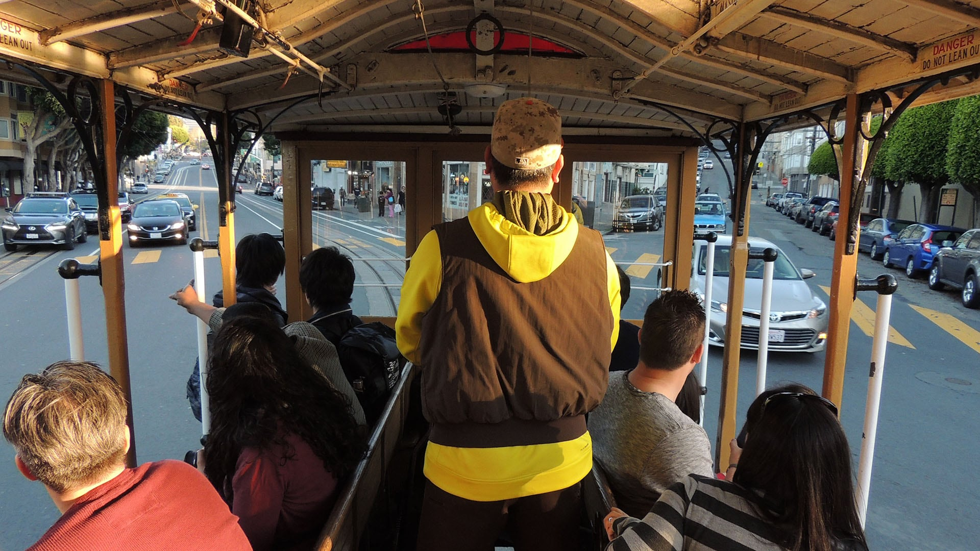 San Francisco boasts the last manually operated cable car system in the world.