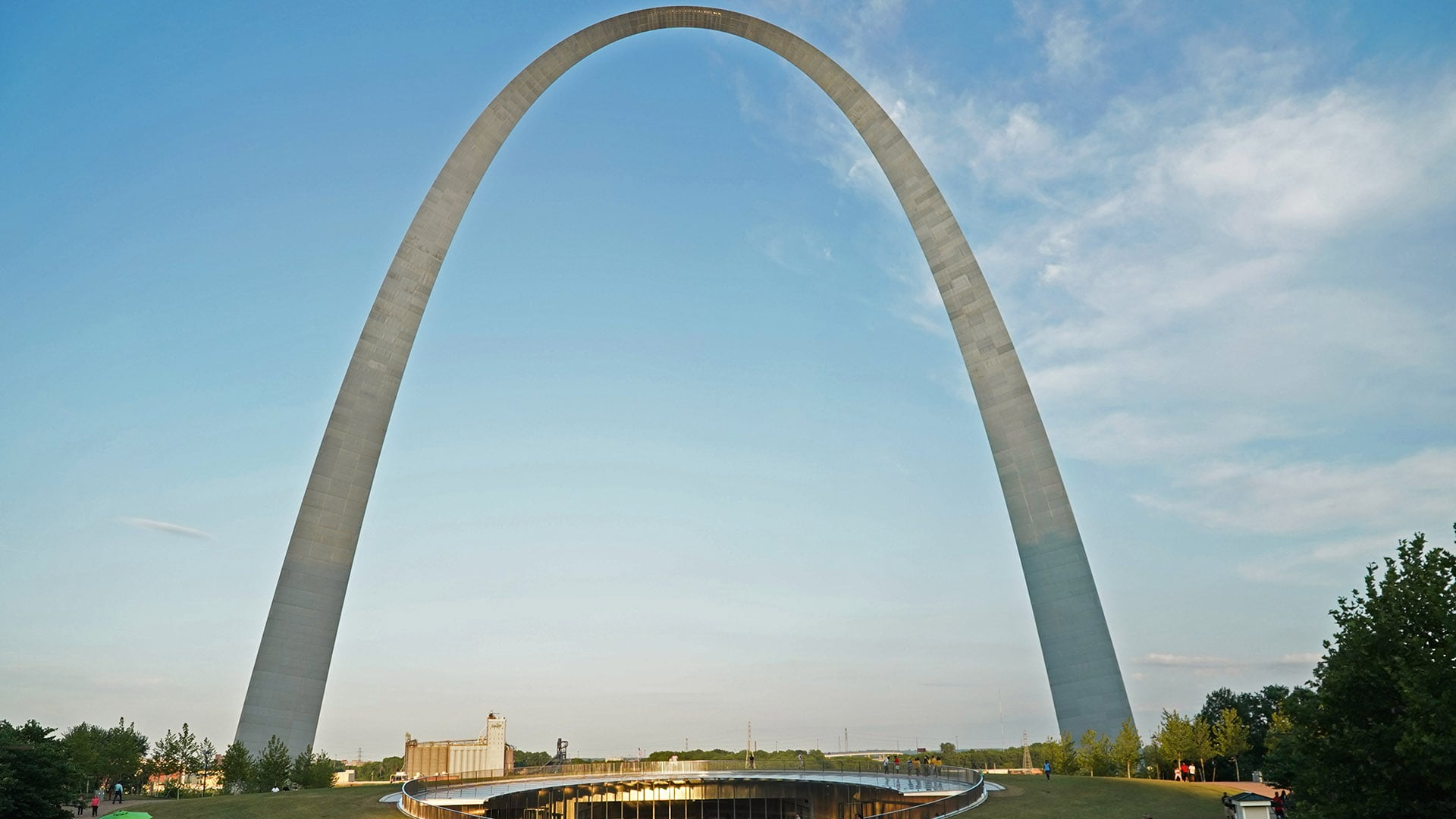 Architect Eero Saarinen created the Arch after winning a national competition to design the monument for St. Louis in 1947.